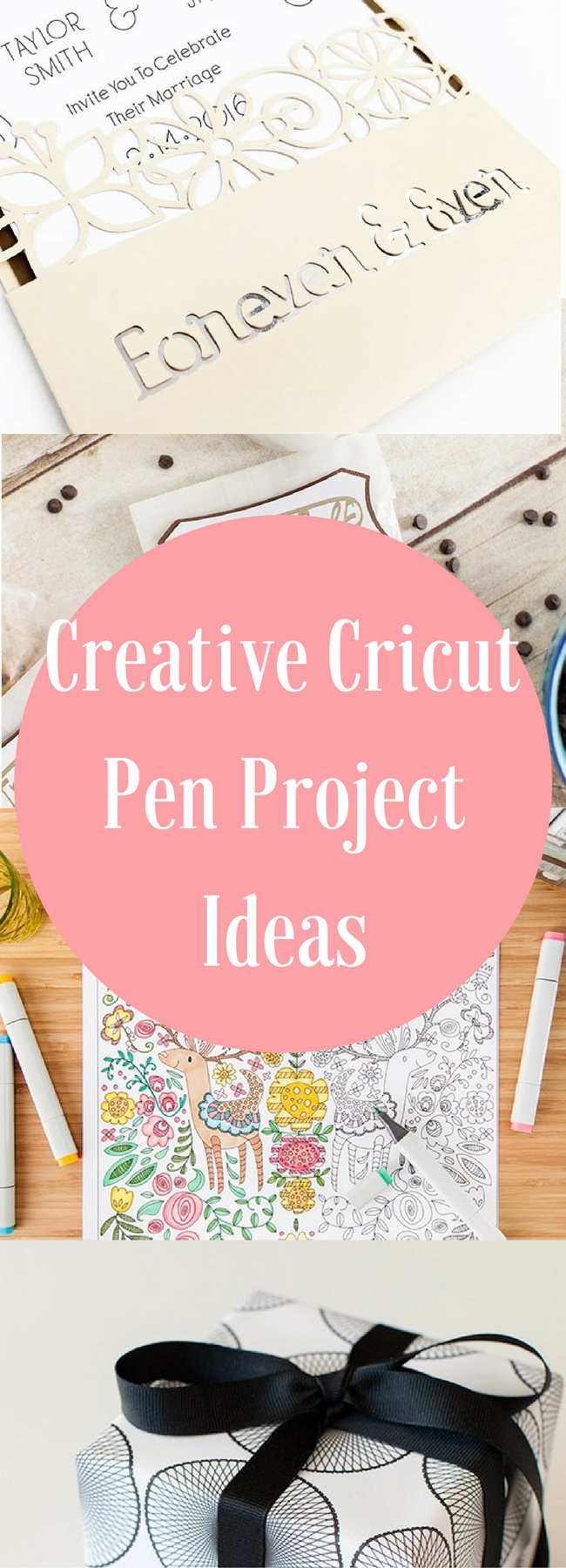 Cricut Pen Projects / Cricut Projects / DIY Cricut Projects / Cricut Ideas / Cricut Projects / Cricut Pens