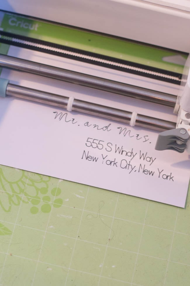 Write with Cricut Explore Air