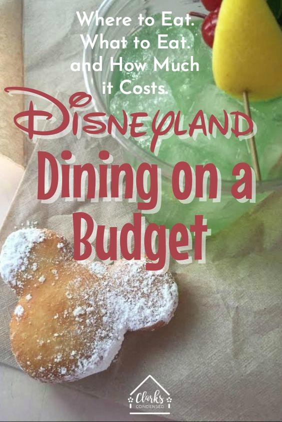 Disneyland / Disneyland Tips / Tips for Disneyland / Disneyland Dining / Disneyland Food / Disneyland on a Budget / Family at Disneyland / Disneyland Vacation
