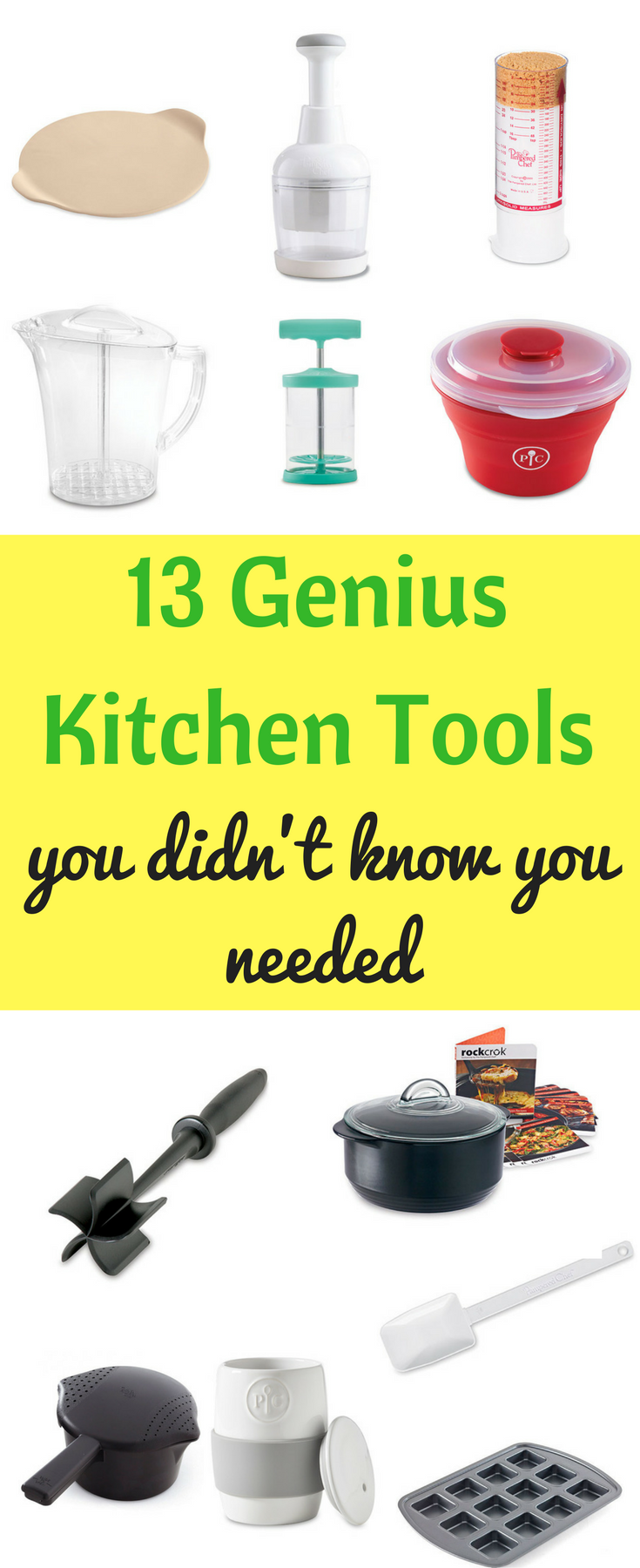 Best Pampered Chef Products / Genius Kitchen Tools / Helpful Kitchen Tools / Kitchen/ Cooking / Beginning Cook / Cooking Utensils / Mother's Day Gifts / Gift Ideas / College Gift Ideas