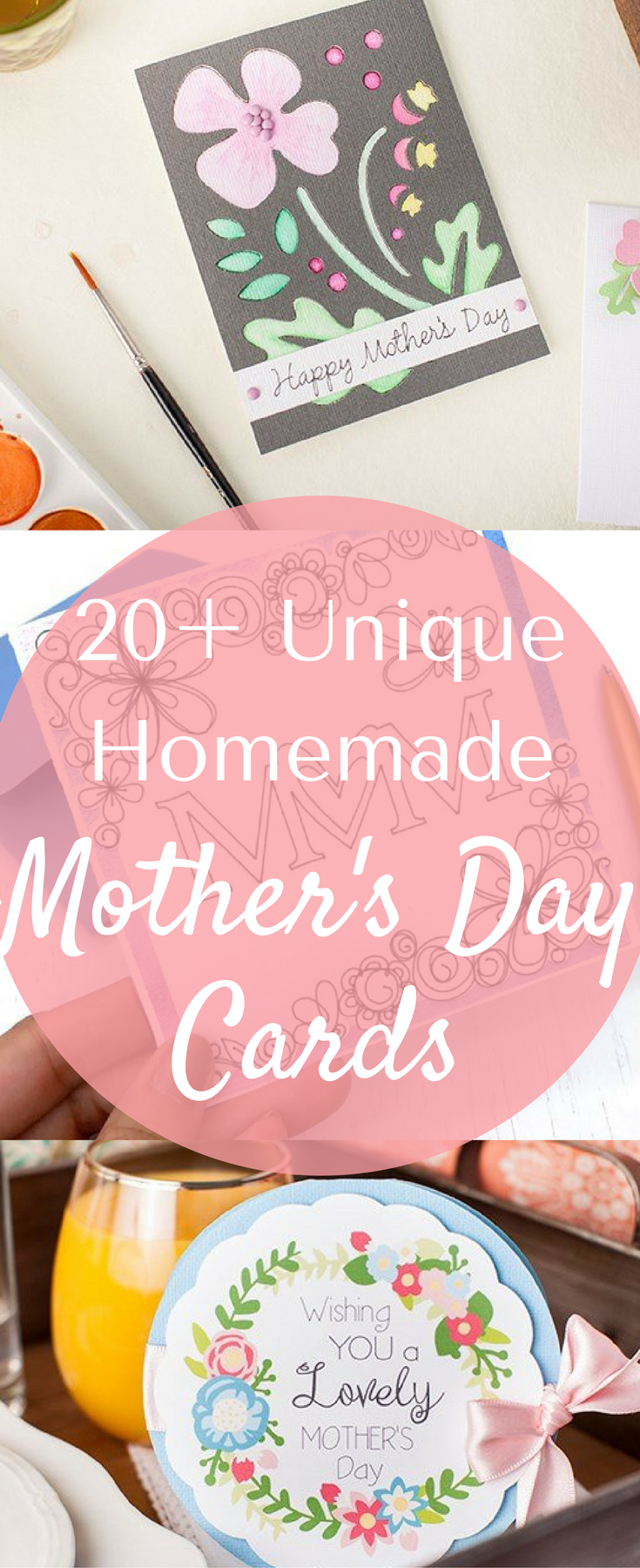 20+ Easy Cricut Mother's Day Card Ideas via @clarkscondensed