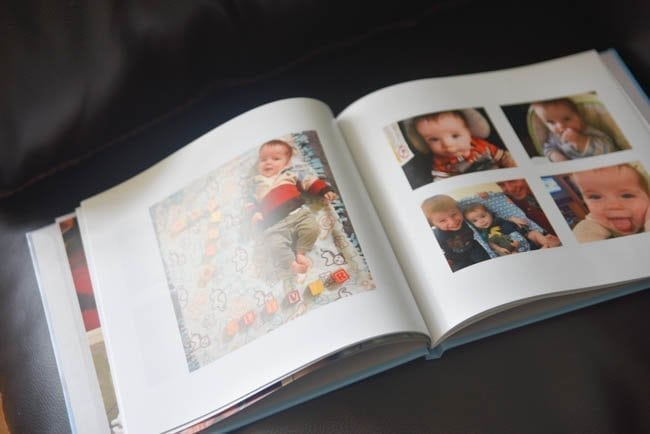 Make Your Own Baby Book: DIY Baby Book - Clarks Condensed
