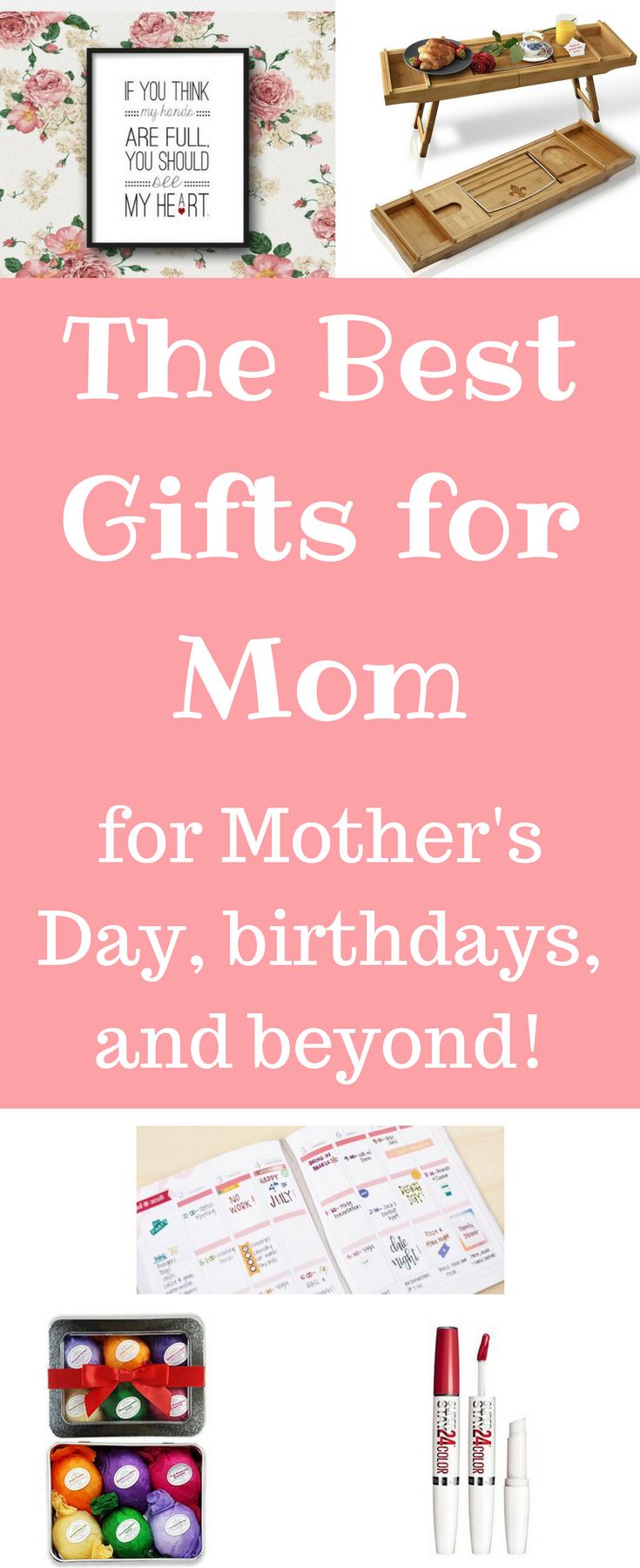 Mother's Day / Mother's Day Gift Ideas / Mother's day gifts / Gifts for Mother's Day / Gift ideas for Mom / Mom gift ideas / Mom gifts via @clarkscondensed