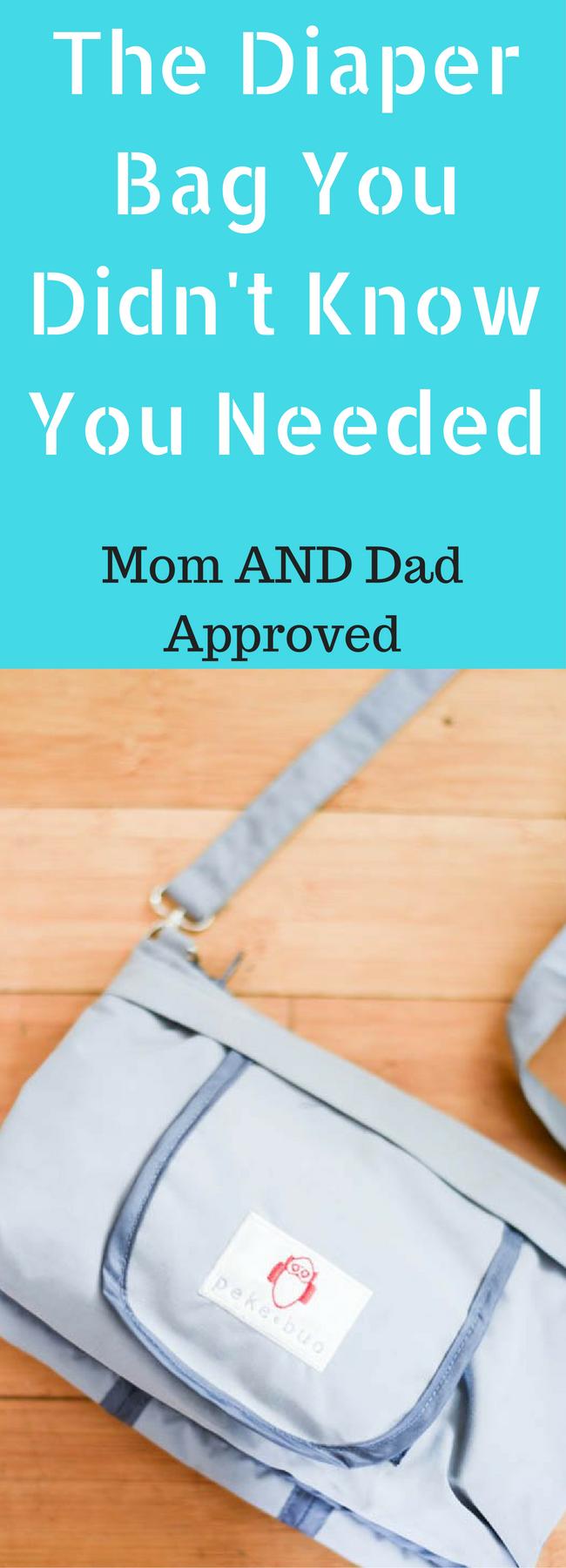 Peke-Buo Diaper Bag / Diaper Bag / Best Diaper Bags / Diaper Bags for Dads / Compact Diaper Bags / Minimalist baby / Baby Discounts