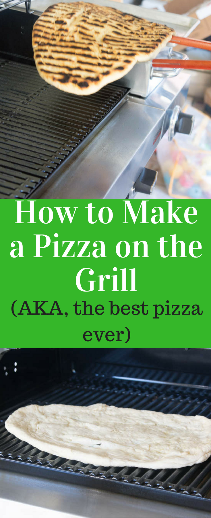 to Make Pizza on the Grill / Grilled Pizza / Grilling pizza / Pizza ...