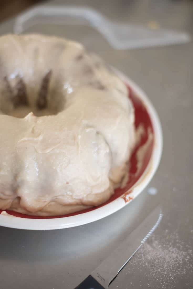 Easy Applesauce Frosting