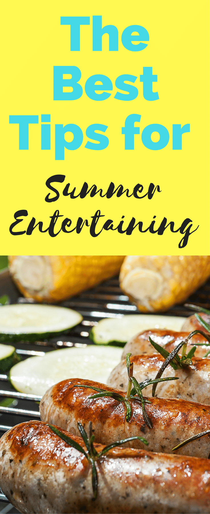 Tips for Summer entertaining / summer entertaining tips / tips for summer / summer ideas / BBQ / outdoor ideas / party ideas