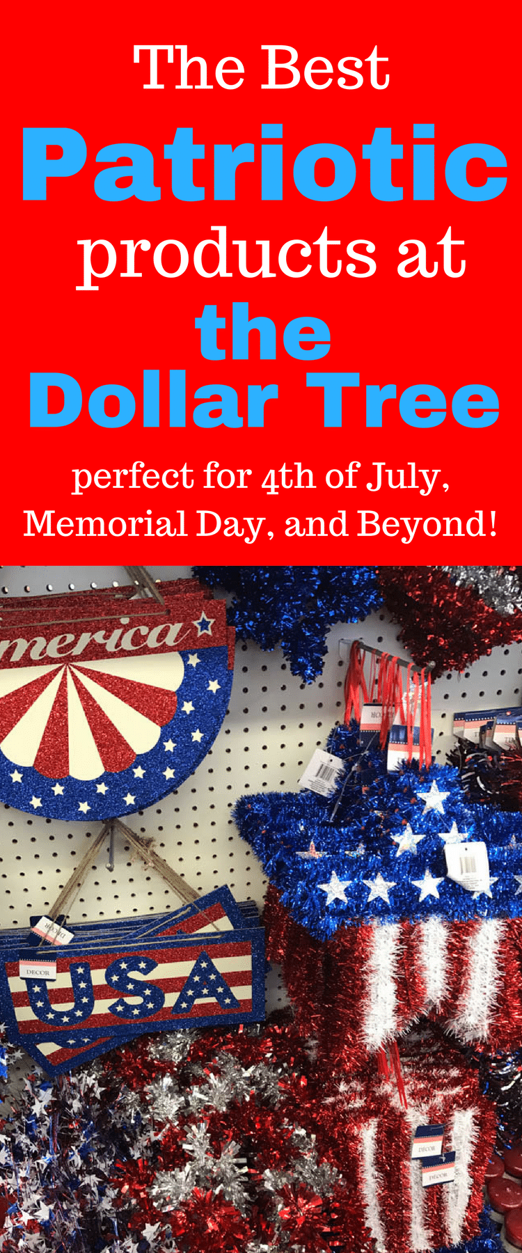 Dollar Tree Products / Dollar Tree Fourth of july / Fourth of July Ideas / Fourth of July Decorations /  Dollar Tree Ideas / Dollar Tree DIY