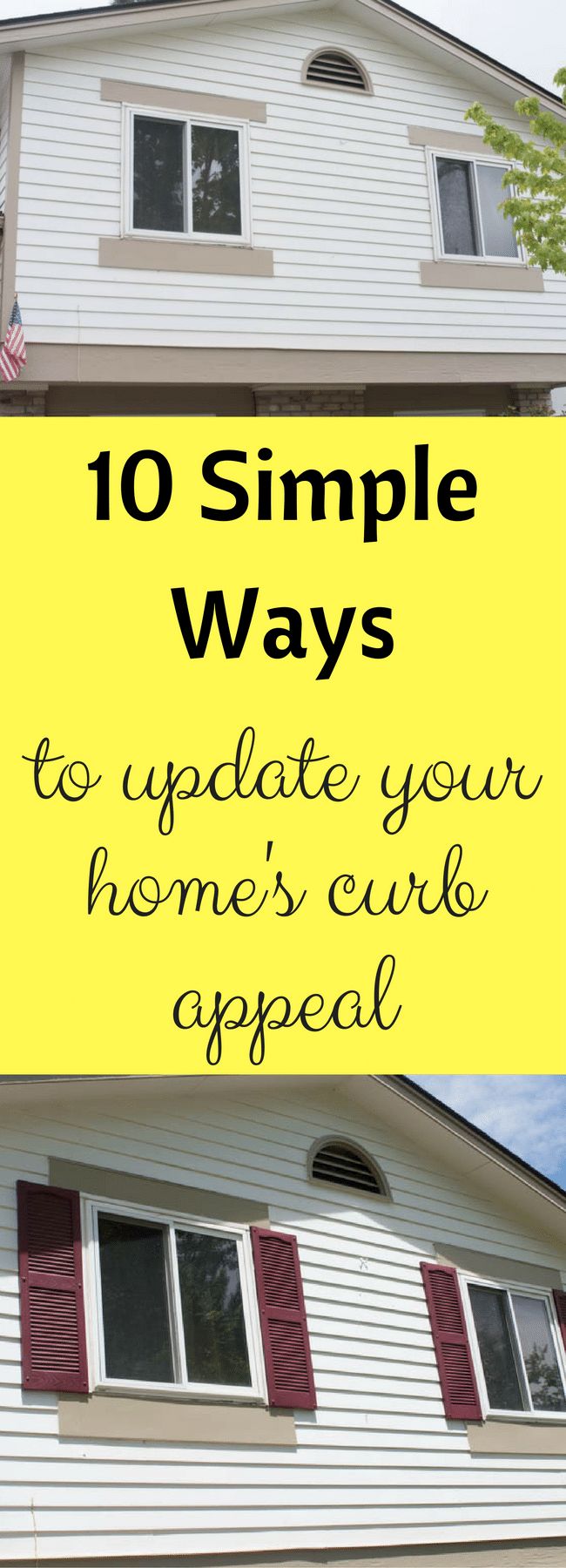 10 Simple Curb Appeal Ideas Anyone Can Do!