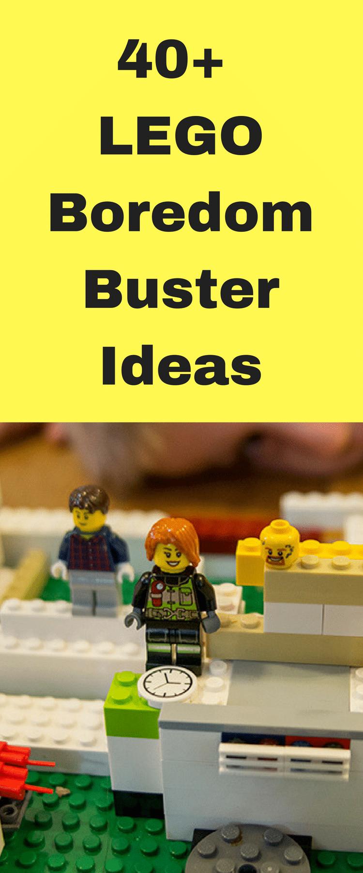 LEGO / LEGO Ideas / LEGO Crafts / LEGO Boredom Busters / Summer Ideas / Summer Fun via @clarkscondensed