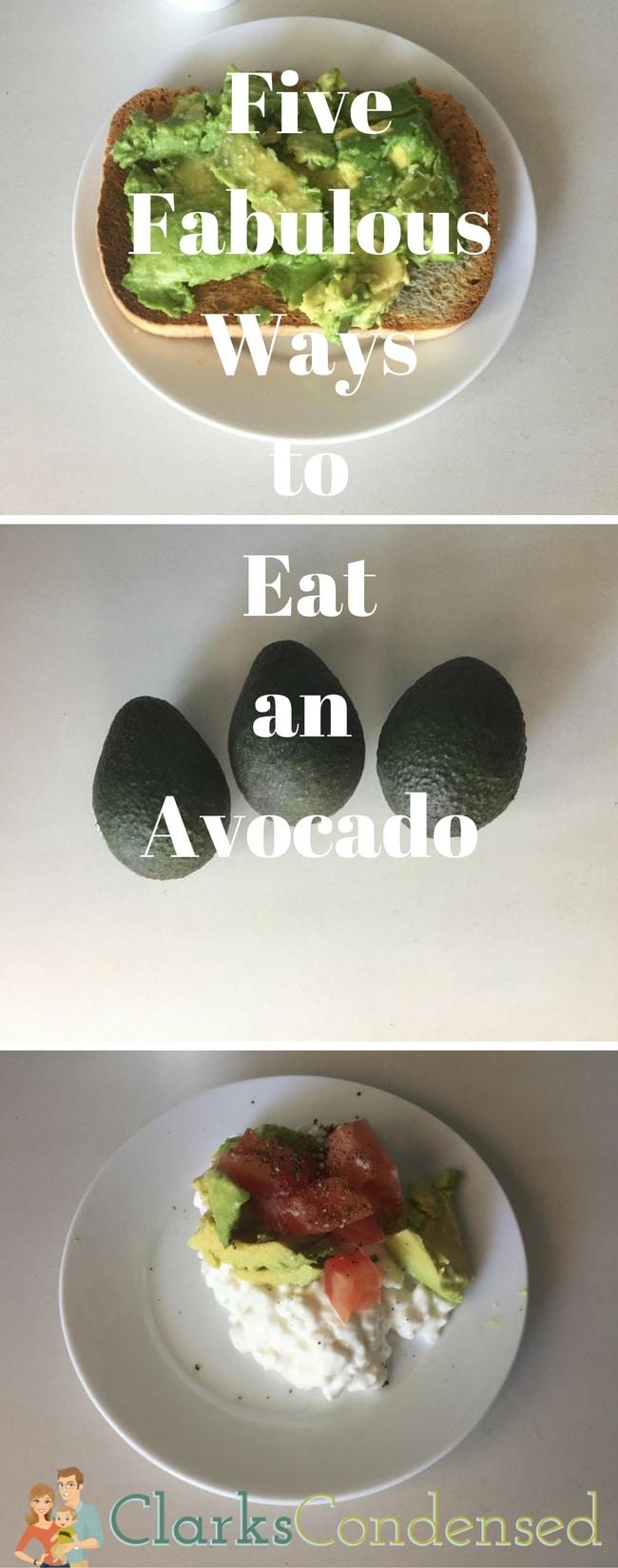 Five Fabulous Ways to Eat an Avocado via @clarkscondensed