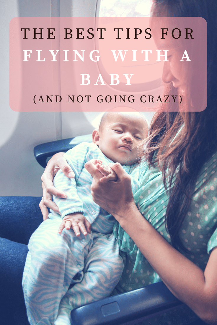 Flying with a baby / Traveling with a baby / family travel / baby tips / baby travel tips / baby hacks via @clarkscondensed