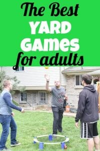 The Best Yard Games for Adults