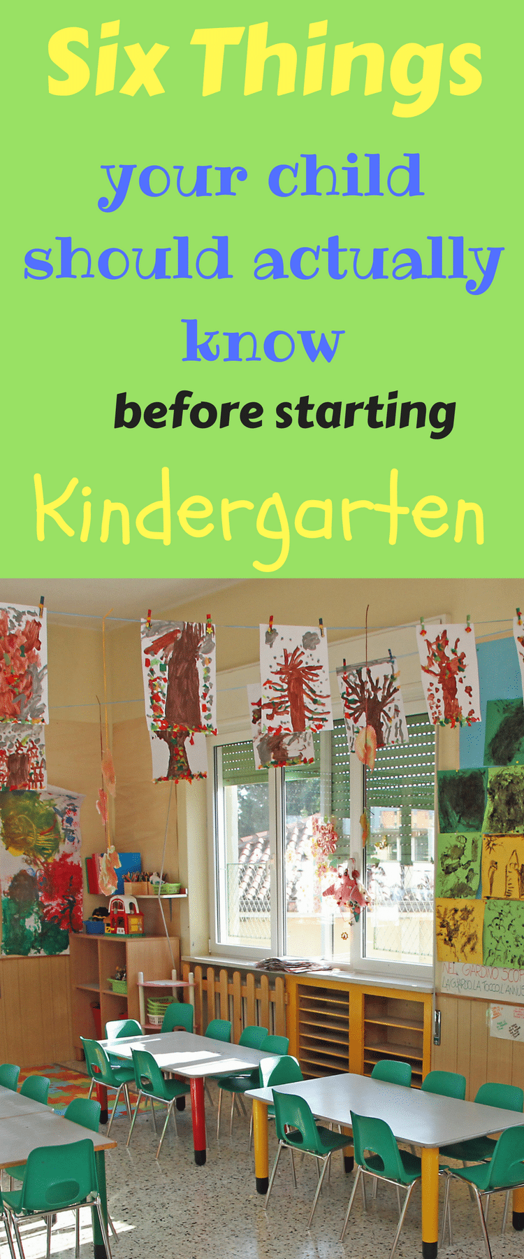 Kindergarten / Kindergarten Tips / Kindergarten prep / Kindness via @clarkscondensed