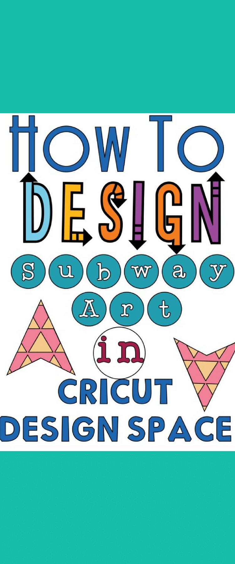 Subway Art / Cricut Design Space / Cricut Tutorial / Cricut Tips / Cricut Subway Art