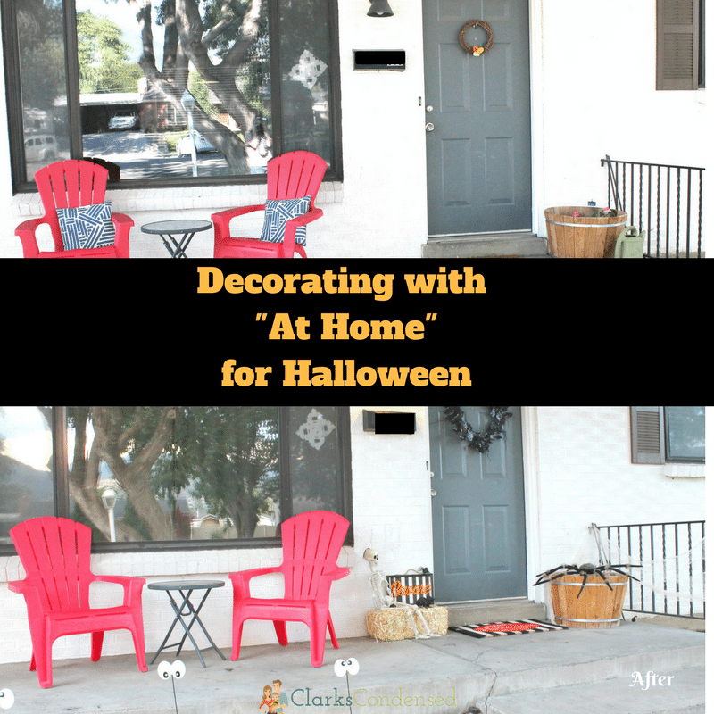 Decorating With At Home For Halloween