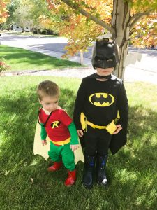 DIY Batman and Robin Costumes for Kids