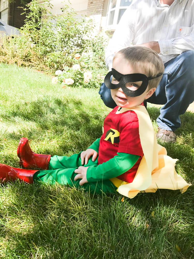 Toddler Robin Costume & DIY Batman and Robin Costumes for Kids