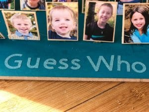 DIY Guess Who Board Game with Cricut