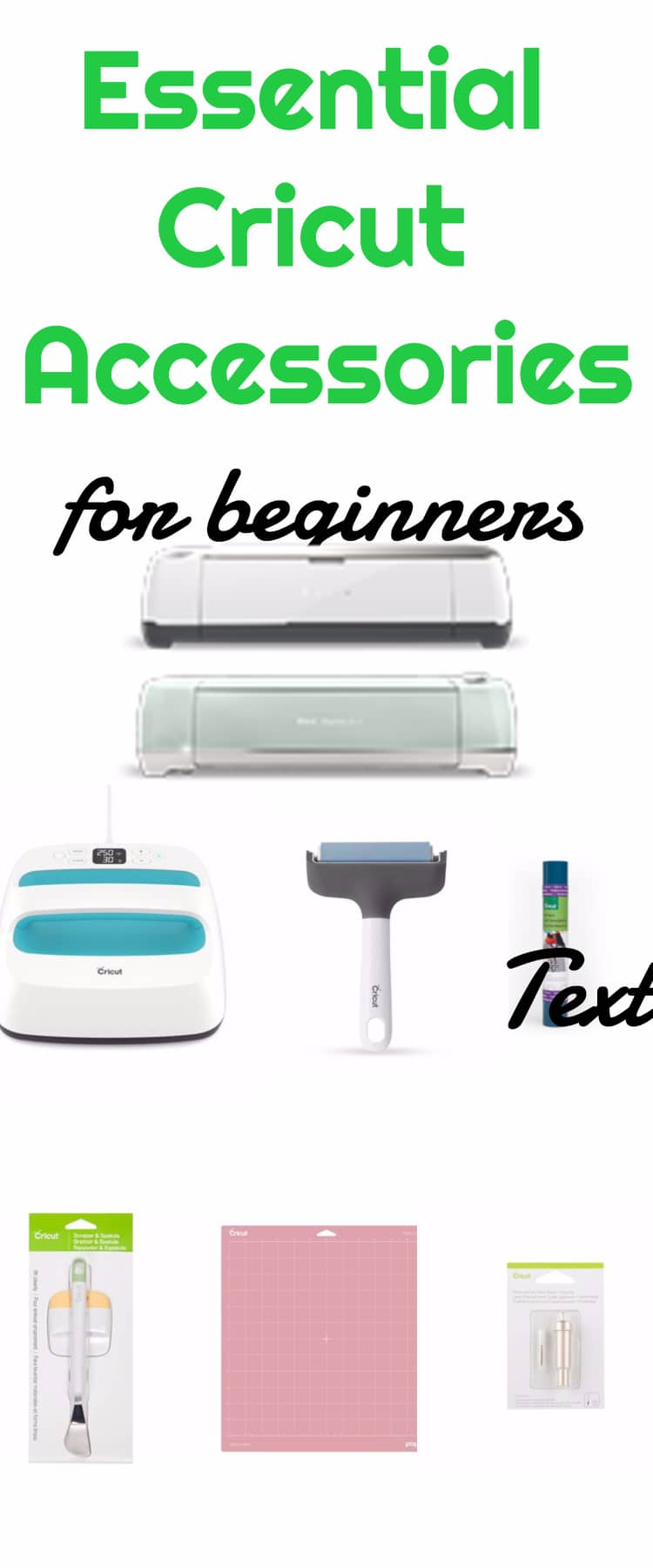 Essential Cricut Accessories for Beginners