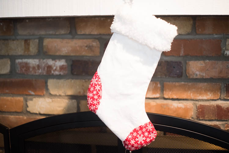 DIY Stocking Cricut