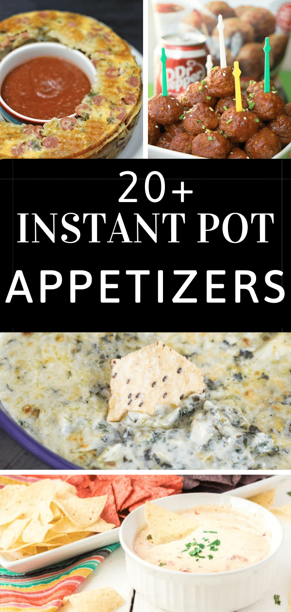 instant pot recipes / instant pot appetizers / instant pot appetizer ideas / instant pot dips / #instantpot #appetizerrecipes #appetizerideas #instantpotrecipes #easyinstantpotrecipes via @clarkscondensed
