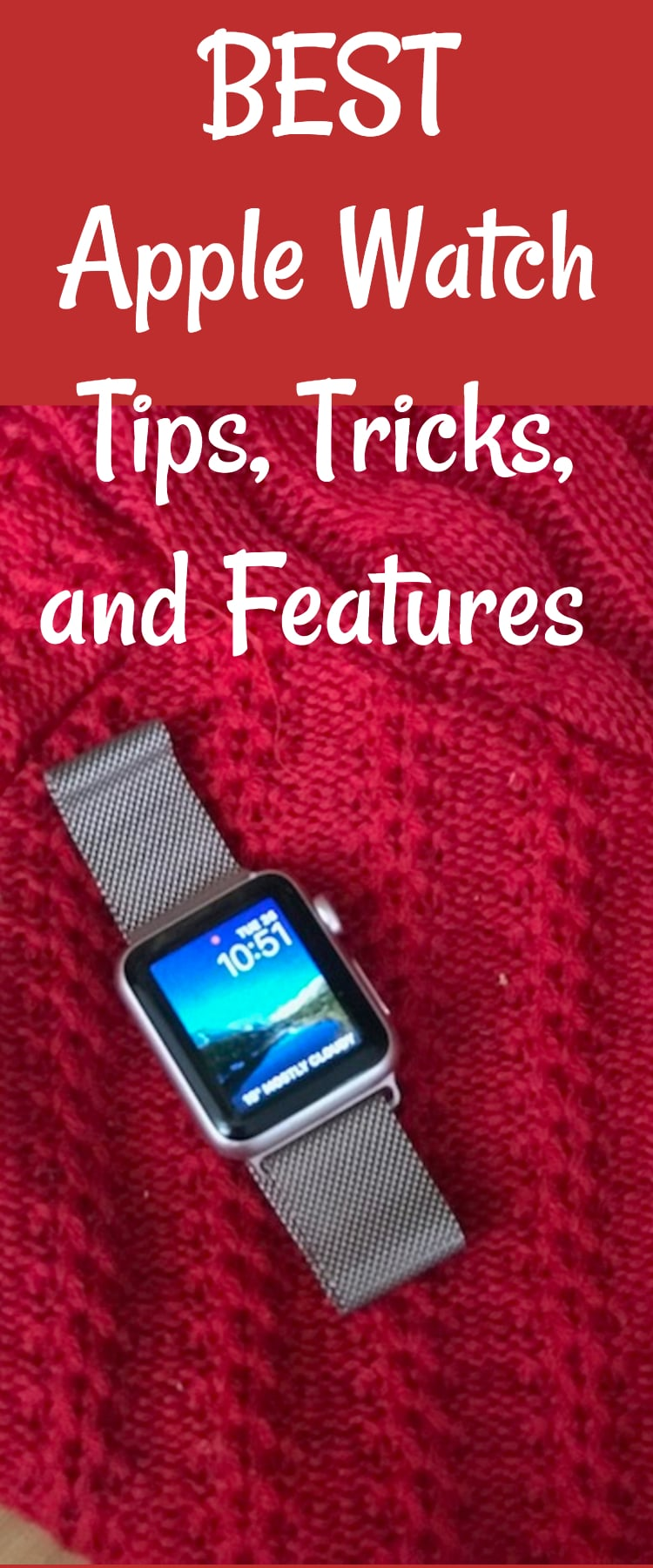 Apple Watch Tips and Tricks Apple Watch Tips / Apple Watch Features / Apple Watch iOS / Fitness Tracker / Fitness