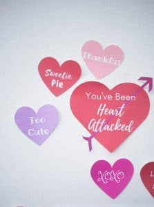 """FREE """"Heart Attack"""" Printables (PDF for Printing and Cricut)"""