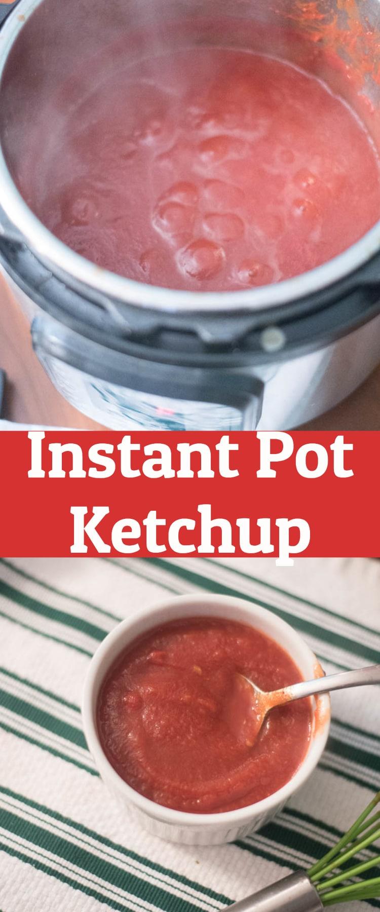 instant pot ketchup / pressure cooker ketchup / instant pot recipe / easy instant pot / pressure cooker #instantpot #pressurecooker