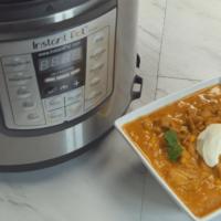 Pressure Cooker Enchilada Soup