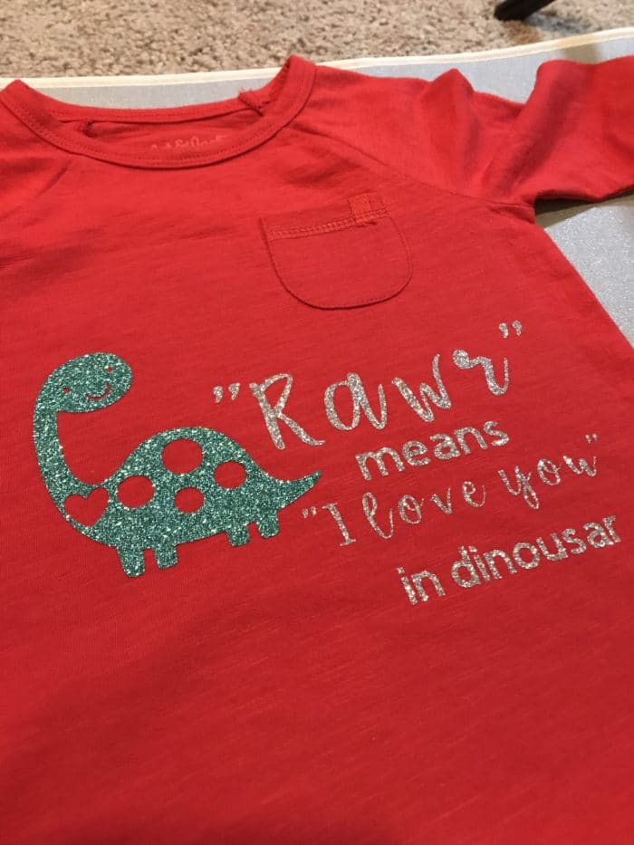 """Rawr"" Means ""I Love You"" in Dinosaur – Free Cricut Design Space File"