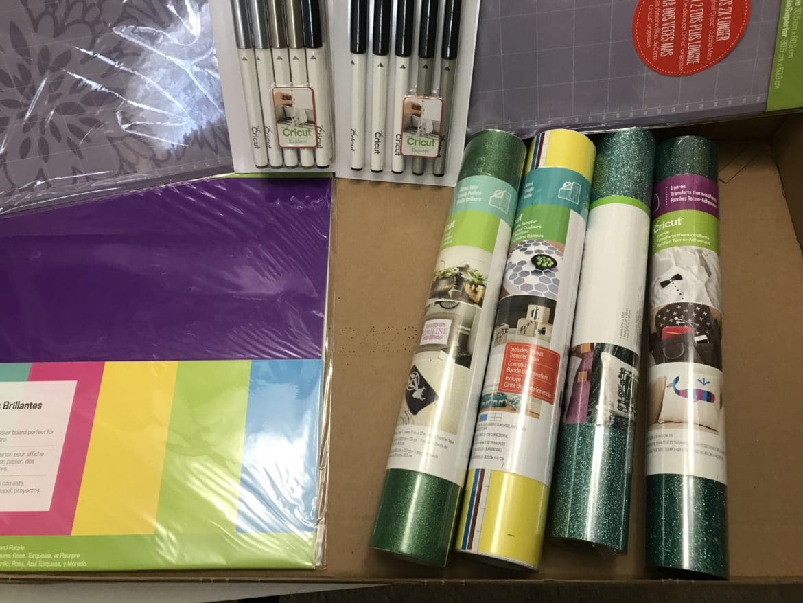 2018 February Cricut Mystery Box Reveal