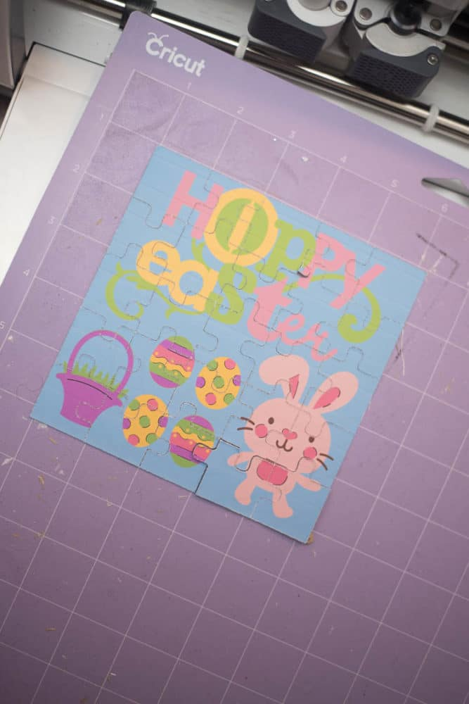 Cricut Jigsaw Puzzle / Make Your Own Puzzle