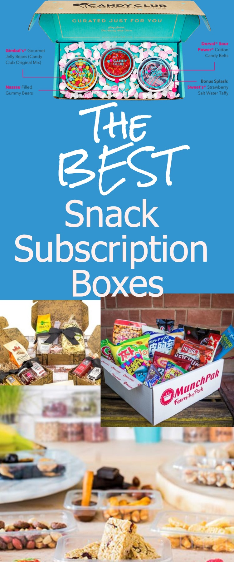 The Best Snack Subscription Boxes