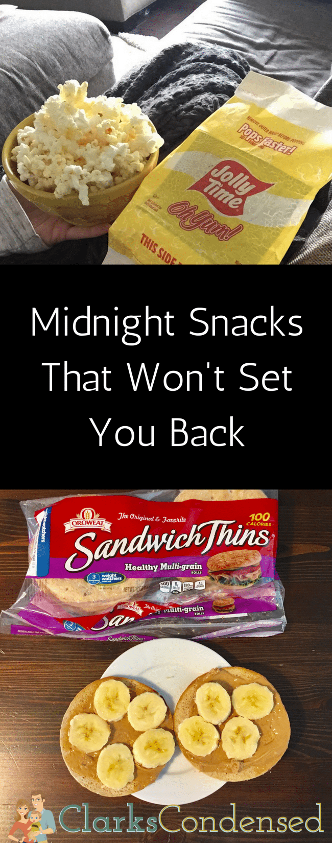 Midnight Snacks that won't set you back on your health goals! #Wellness4RealLife #WWSponsored #IC #ad  via @clarkscondensed