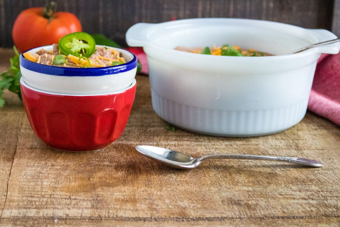 Refried Beans Pressure Cooker