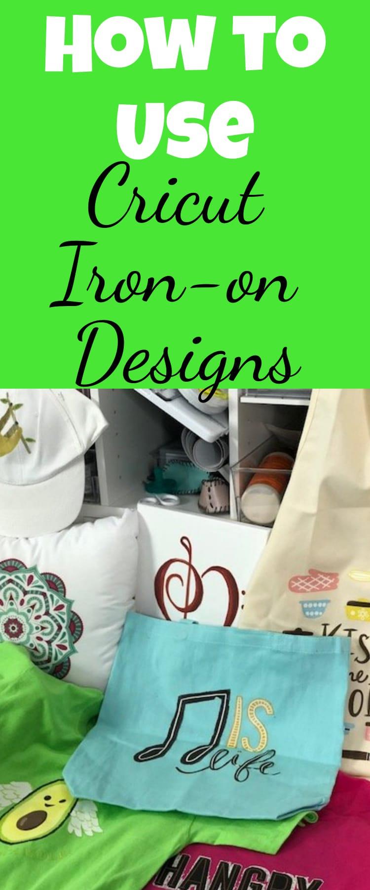 Cricut Iron-on Designs