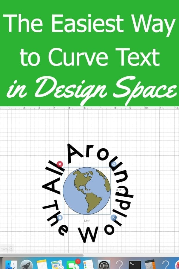 Curve Text Cricut Design Space