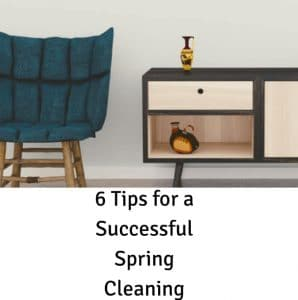 6 Tips for a Successful Spring Cleaning