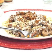 Pressure Cooker Bolognese Sauce