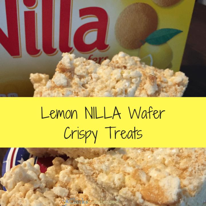 Lemon NILLA Wafer Cripsy Treats