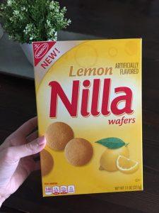 Lemon NILLA Wafer Crispy Treats