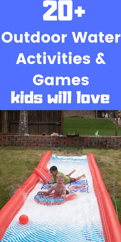 fun water activities