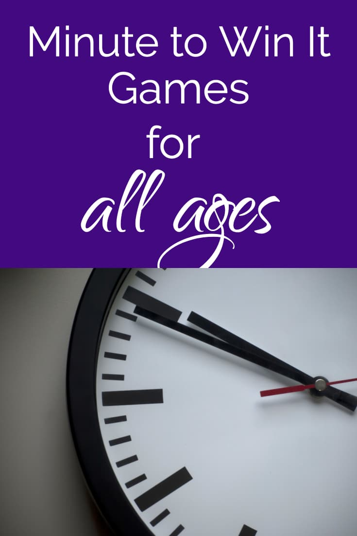 minute to win it games / minute to win it challenges / family reunion / family reunion ideas / group games / fun ideas / family #minutetowinit #familyreunion #challenges  via @clarkscondensed
