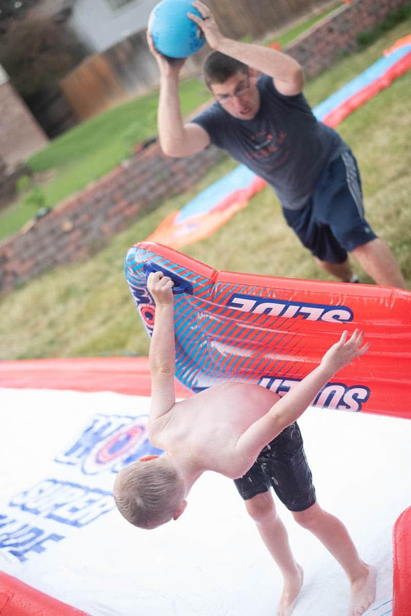 Water Slide Activities
