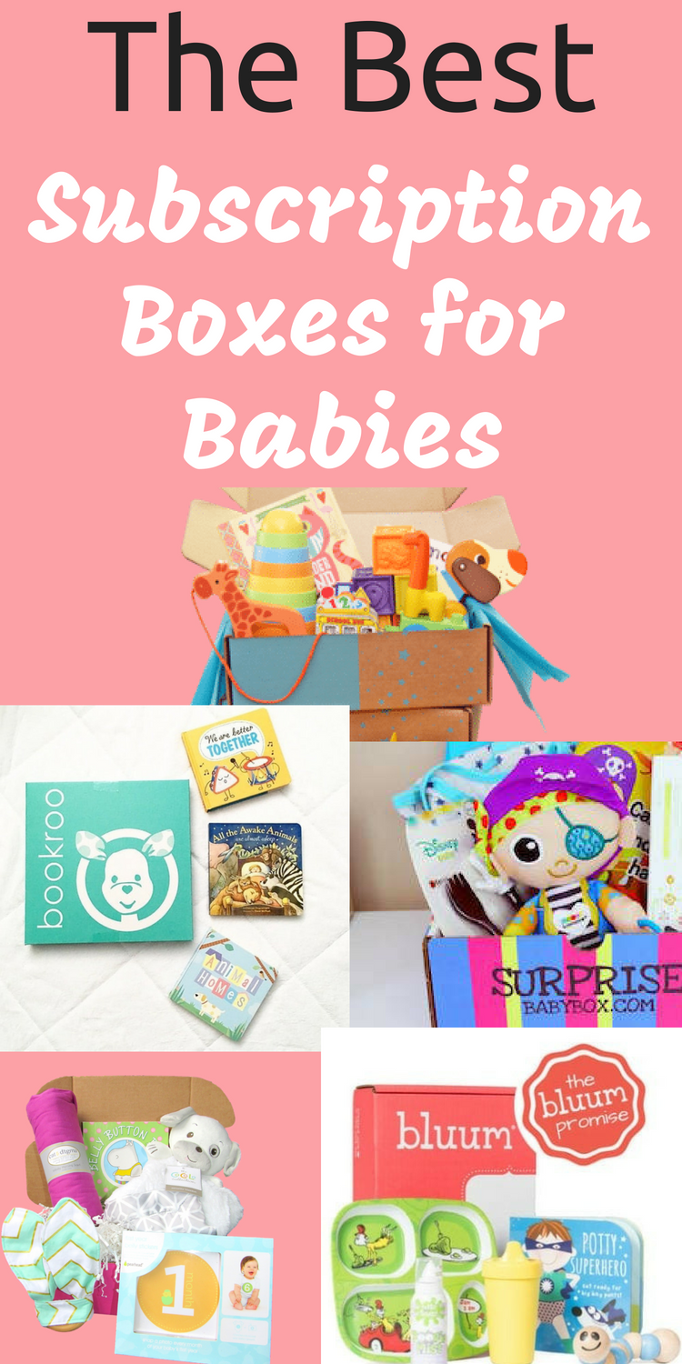 Subscription Box for Baby / Baby Subscription Boxes via @clarkscondensed