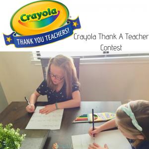 Crayola Thank a Teacher Contest
