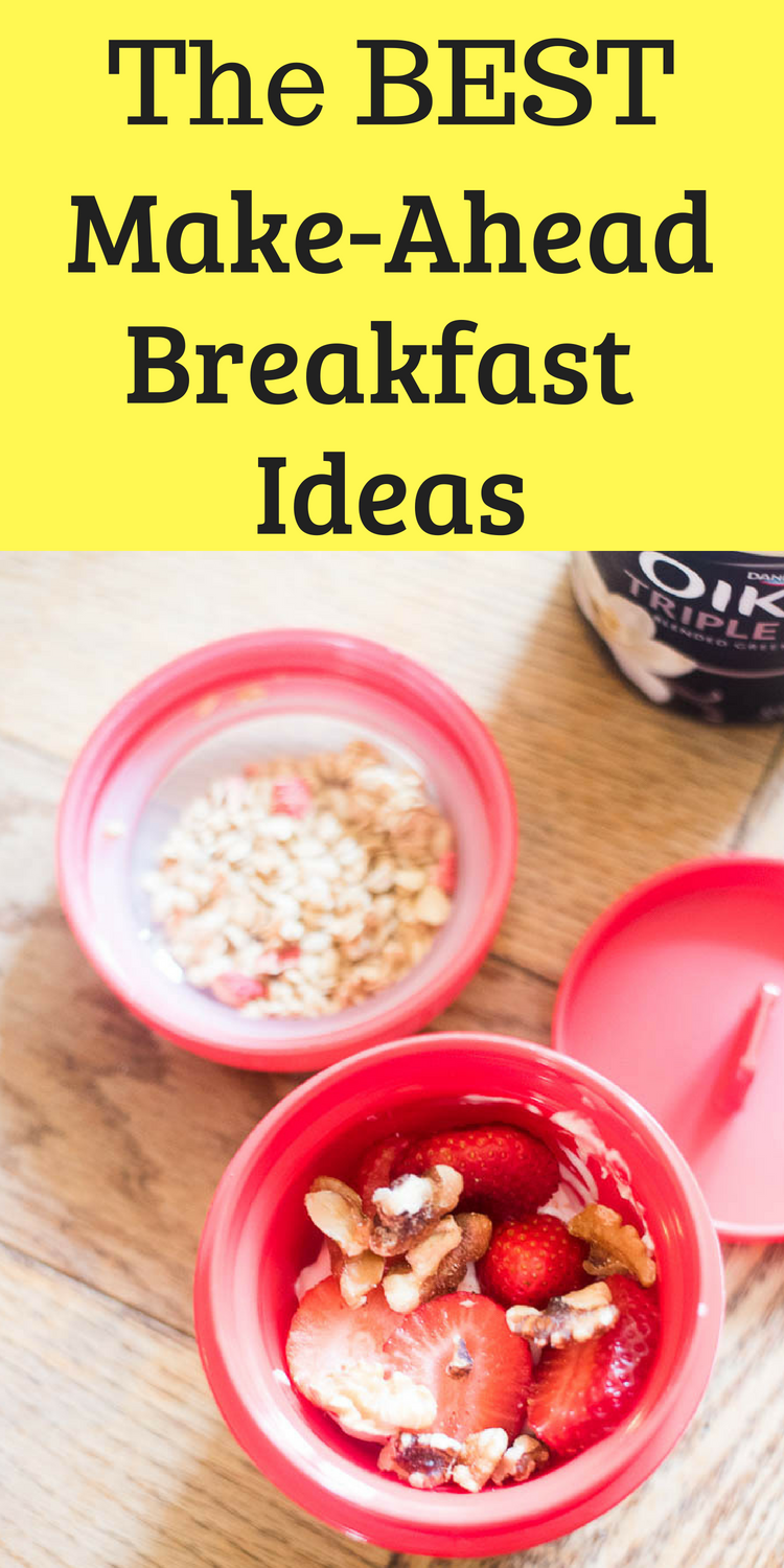make ahead breakfasts / make ahead breakfast ideas / easy breakfast ideas / freezer breakfasts via @clarkscondensed