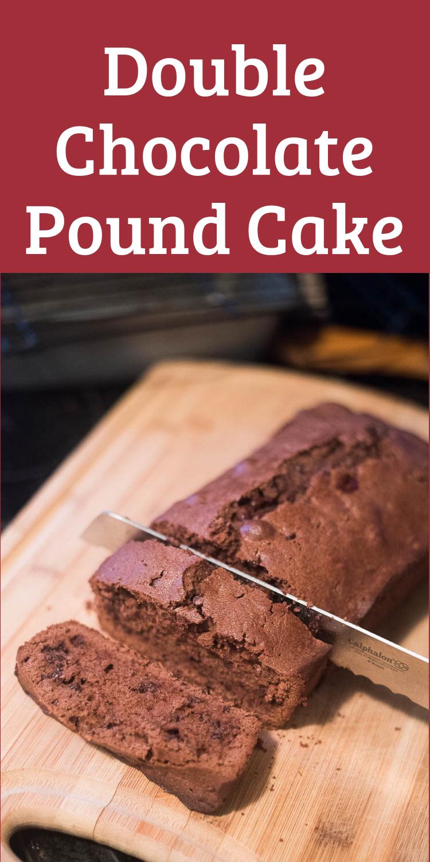 Pound Cake / Chocolate Pound Cake / Pound Cake Recipe / Chocolate Cake Recipe via @clarkscondensed