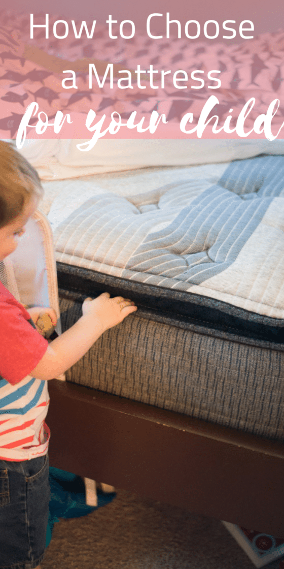 How to Choose a Mattress for a Child (And Why Bigger is Better)